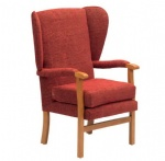 LFE-001 high back Fabric Armchairs for the Elderly care