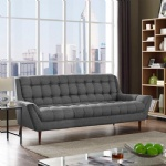 LFS-003 3 Seater of Modern Contemporary Fabric Upholstered Sofa