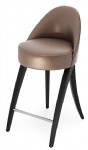 LFB-009 Customized Luxury Bar Stools by Upholstery cushion