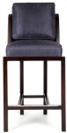 LFB-012 Solid wood with Fabric Upholstered Bar stools