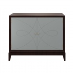 CGF-015 Designer furniture Custom Console Cabinet used Ash wood with shelves