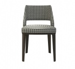 Minimal design of Fabric upholstered Writing chairs in Hotel room furniture