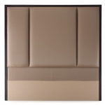 UH-010 3 PANEL HEADBOARD made by Italy Fabric Padded Cushion